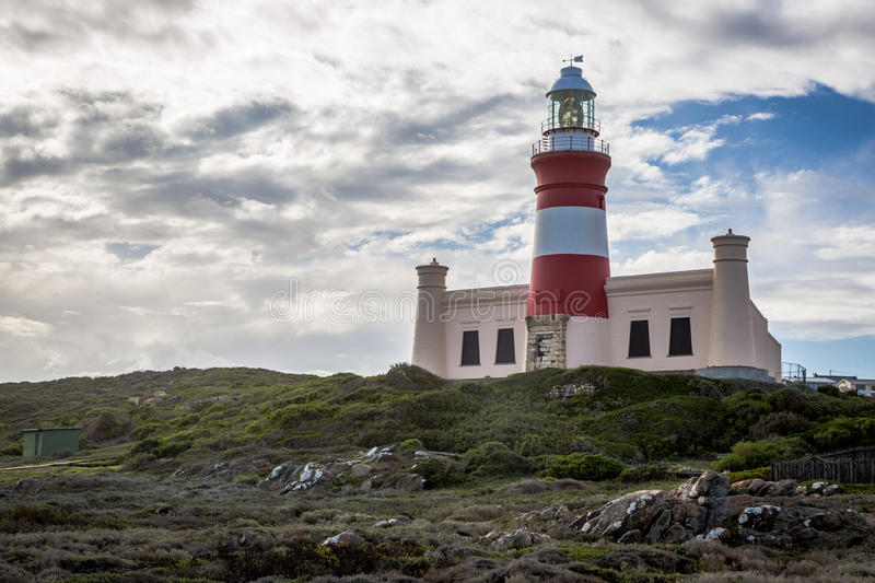 Kaap Agulhas, Zuid-Afrika royalty-vrije stock afbeelding
