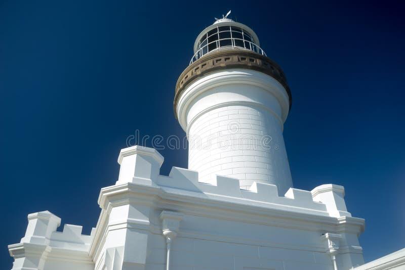 Kaap Byron Light Australa Close View royalty-vrije stock foto's