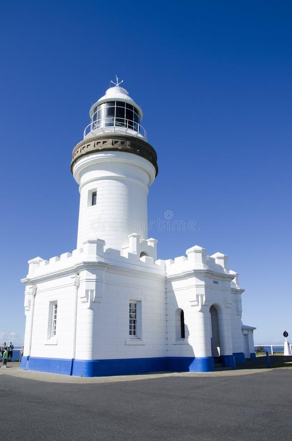 Kaap Byron Lighthouse in Byron Bay Australia royalty-vrije stock foto's