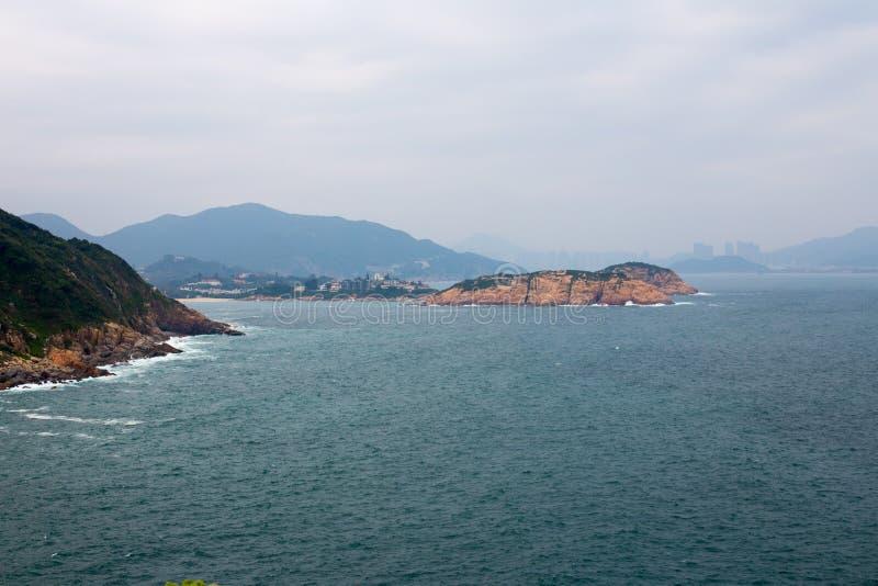 Kaap D ` Aguilar in Hong Kong stock foto's