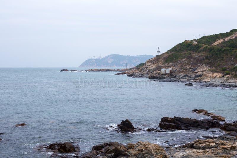 Kaap D ` Aguilar in Hong Kong stock foto