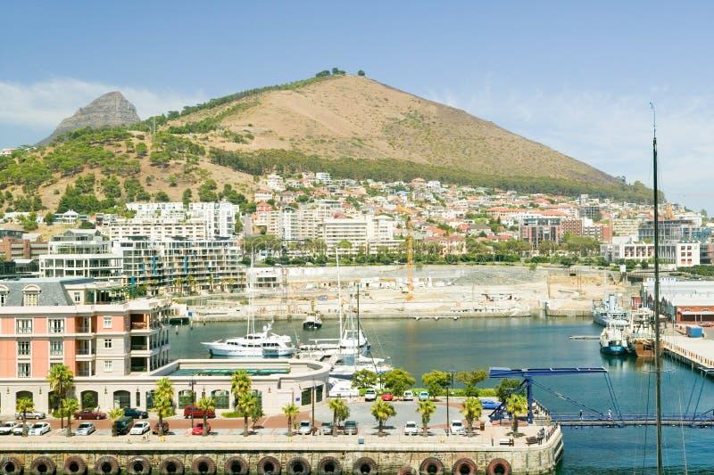 Kaap Grace Hotel en Waterkant, Cape Town, Zuid-Afrika stock afbeelding