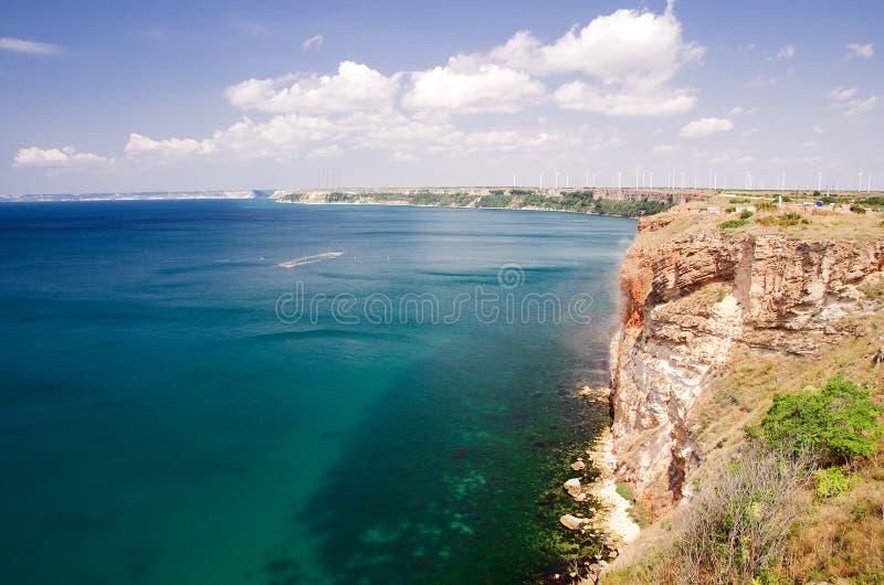 Kaap Kaliakra, Bulgarije royalty-vrije stock afbeeldingen