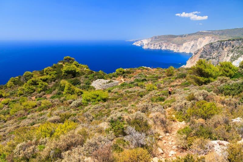 Kaap Keri Zakynthos royalty-vrije stock afbeeldingen