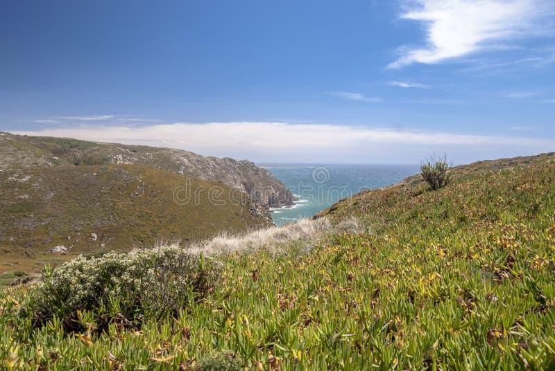 Kaap Roca (Cabo DA Roca) stock afbeeldingen
