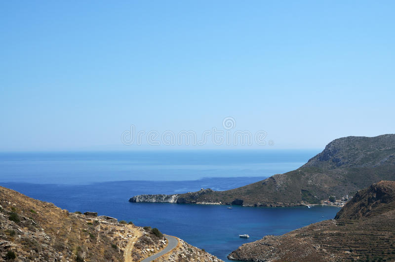 Kaap Tenaro in Mani stock foto's