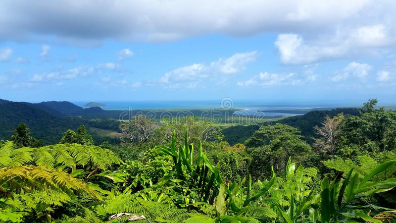 Kaapbeproeving in Queensland, Australië stock afbeelding