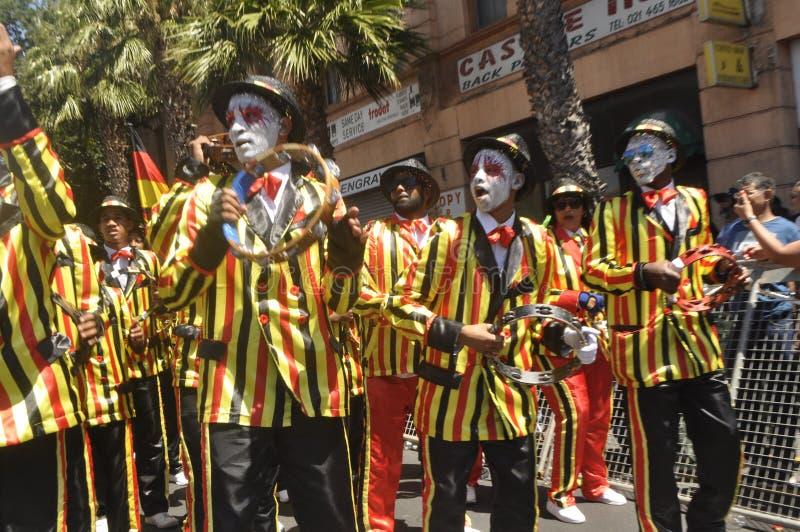 Kaapse Klopse - парад в Кейптауне -2019 стоковые фото