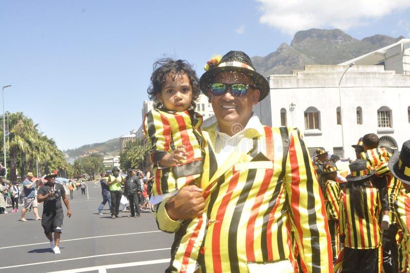 Kaapse Klopse - парад в Кейптауне -2019 стоковые изображения rf