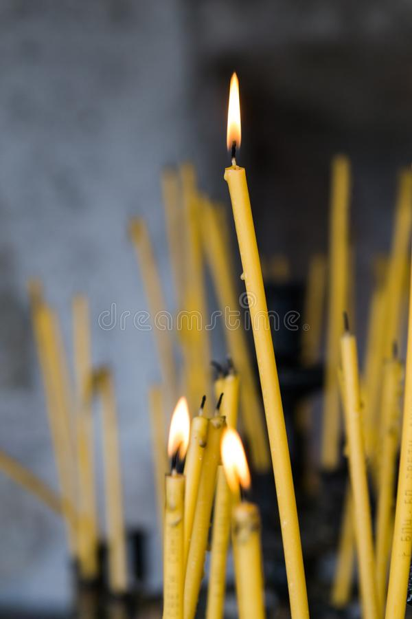 Kaarsen stock foto