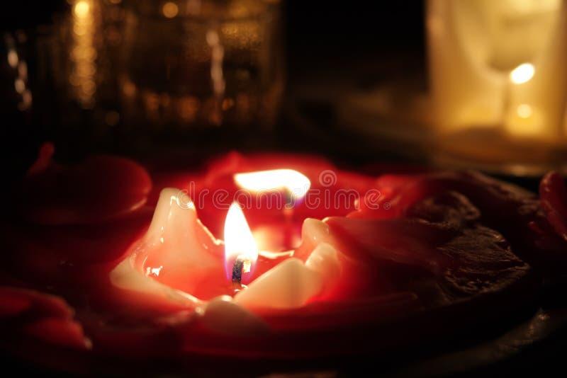 Kaarsen. stock foto's