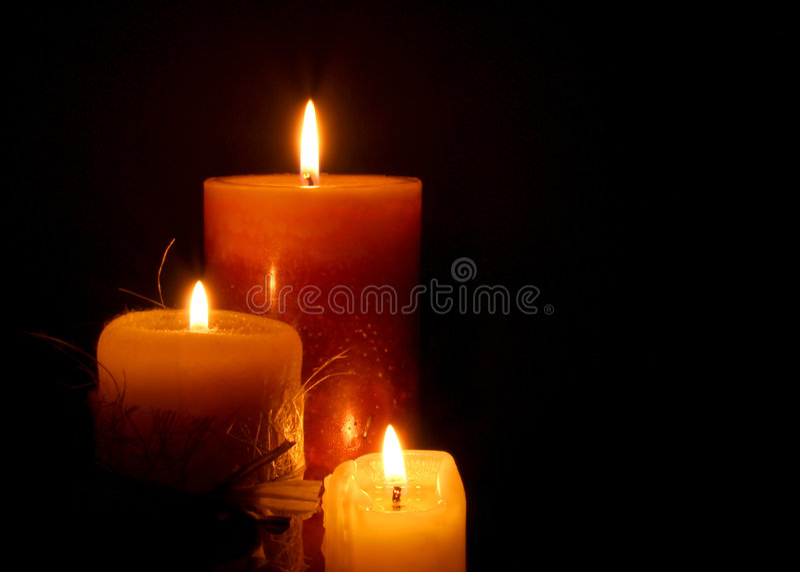 Kaarsen stock foto's