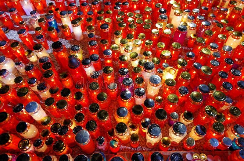 Kaarsen stock fotografie