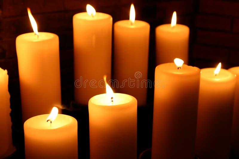 Kaarsen #6 royalty-vrije stock afbeelding