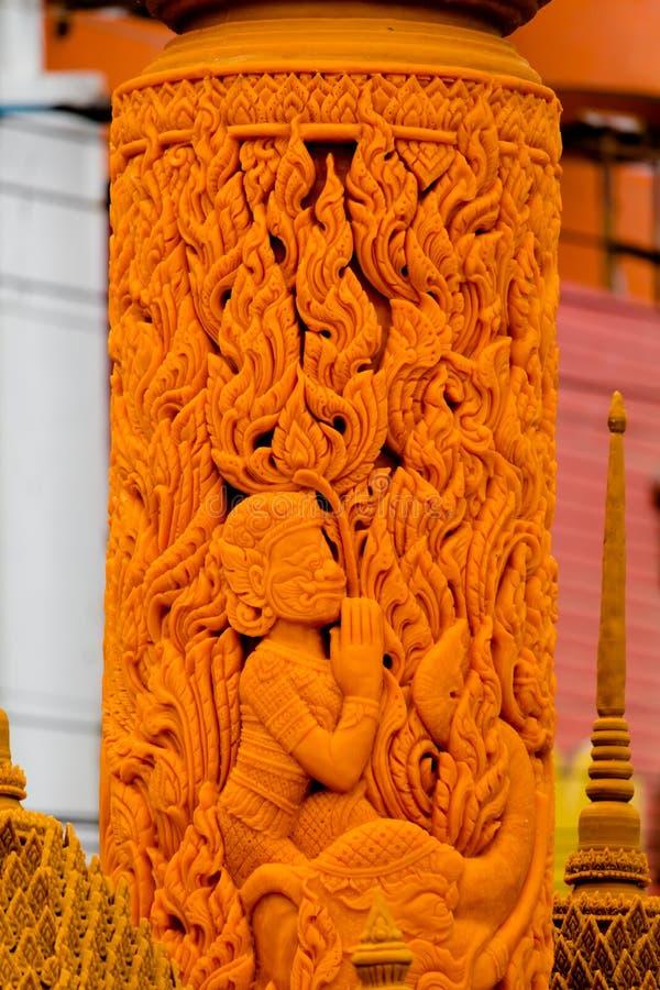 Kaarsfestival royalty-vrije stock fotografie
