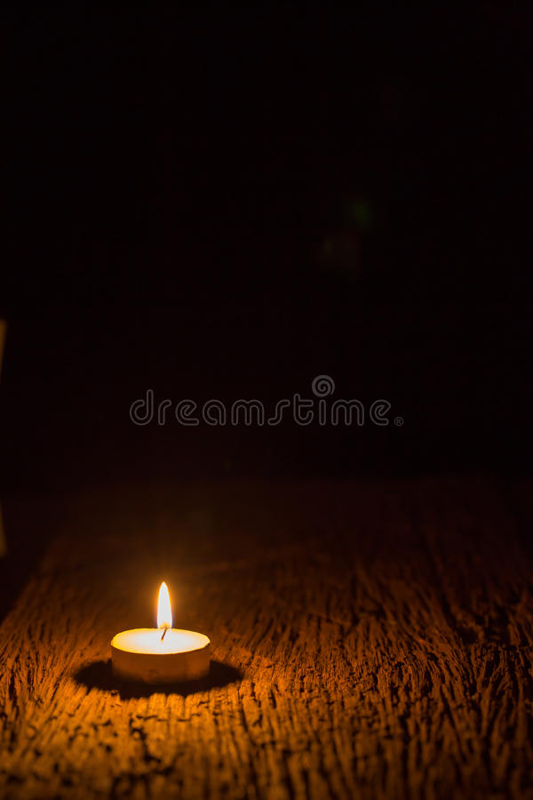 Kaarslicht stock fotografie