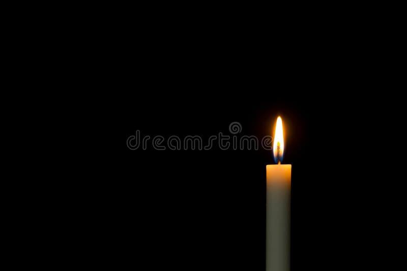 Kaarslicht stock afbeelding