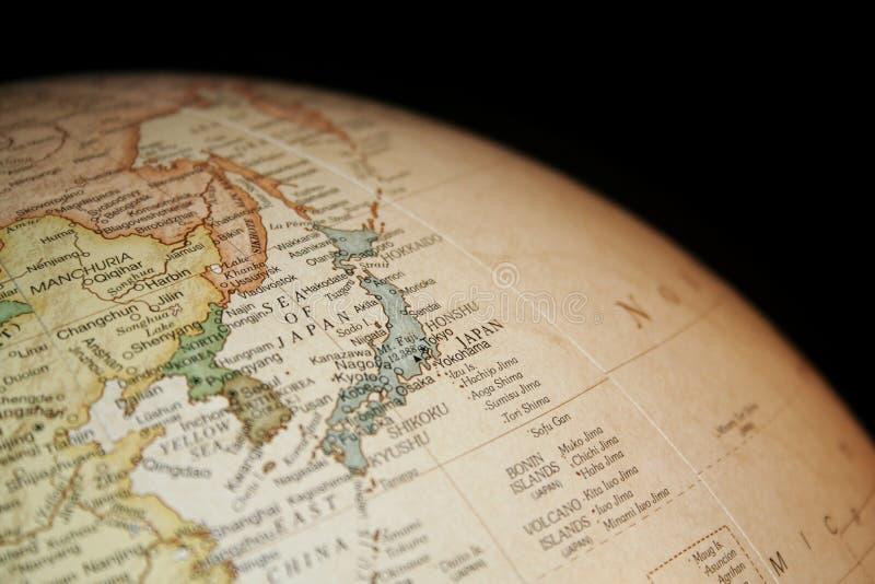 Kaart van Japan royalty-vrije stock foto's