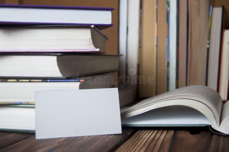 Kaartboeken stock afbeelding