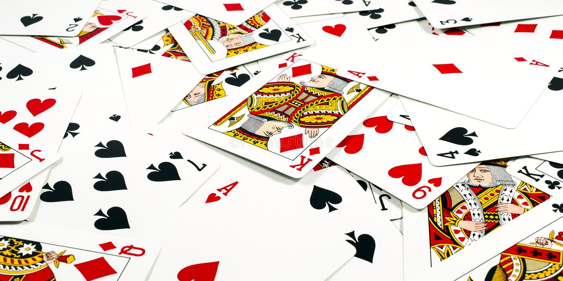 Kaarten royalty-vrije stock afbeelding