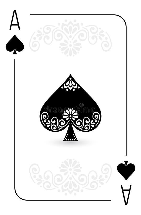 Kaarten volledige reeks royalty-vrije illustratie