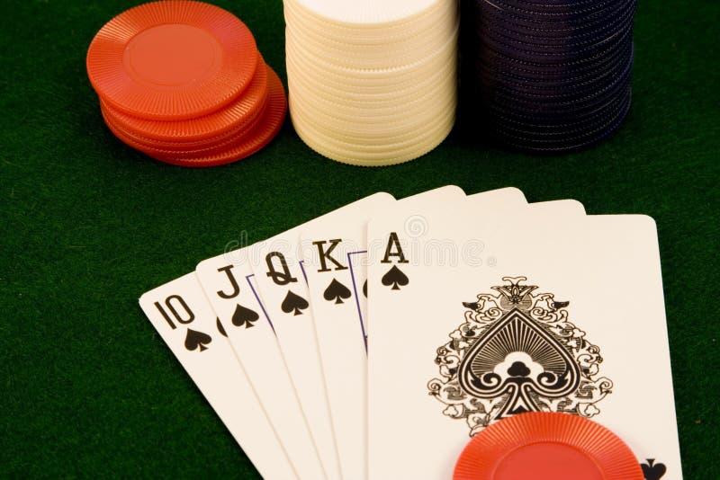 Kaartspel stock fotografie