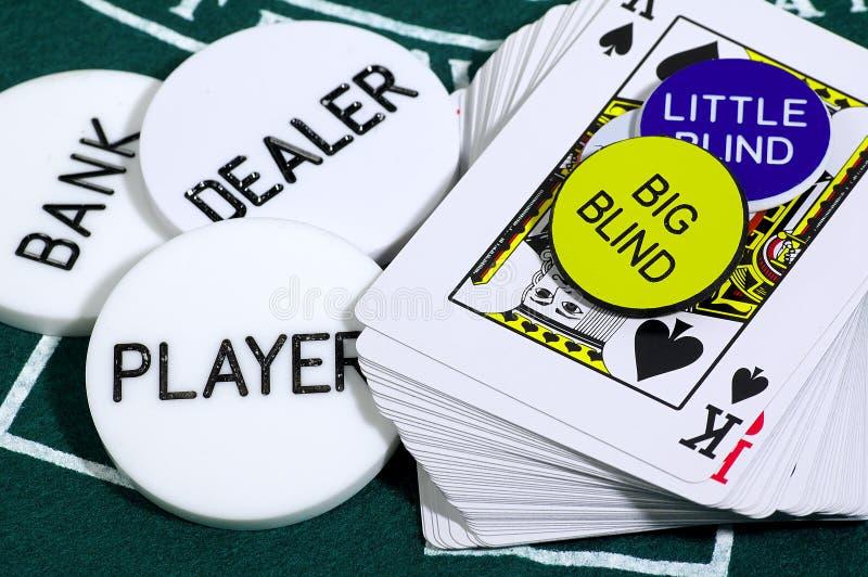 Kaartspel stock afbeelding