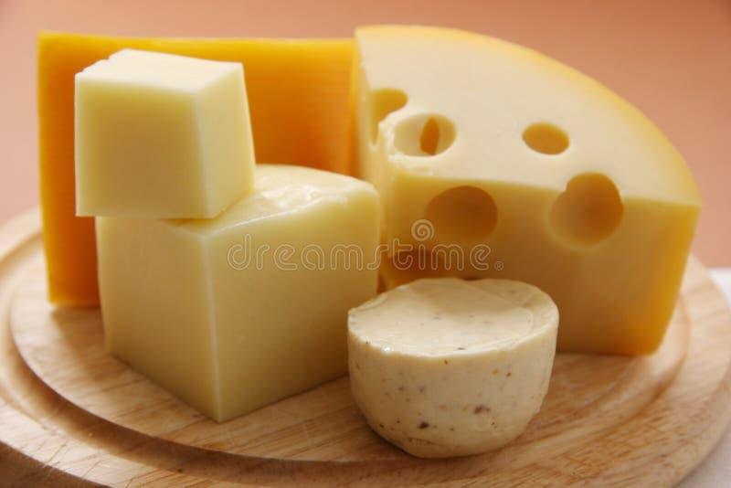 Kaas. stock afbeelding