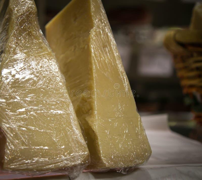 Kaas bij een markt Florence royalty-vrije stock afbeelding