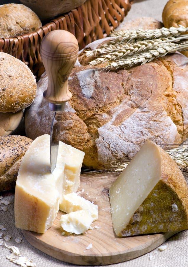 Kaas en Brood 2 stock fotografie