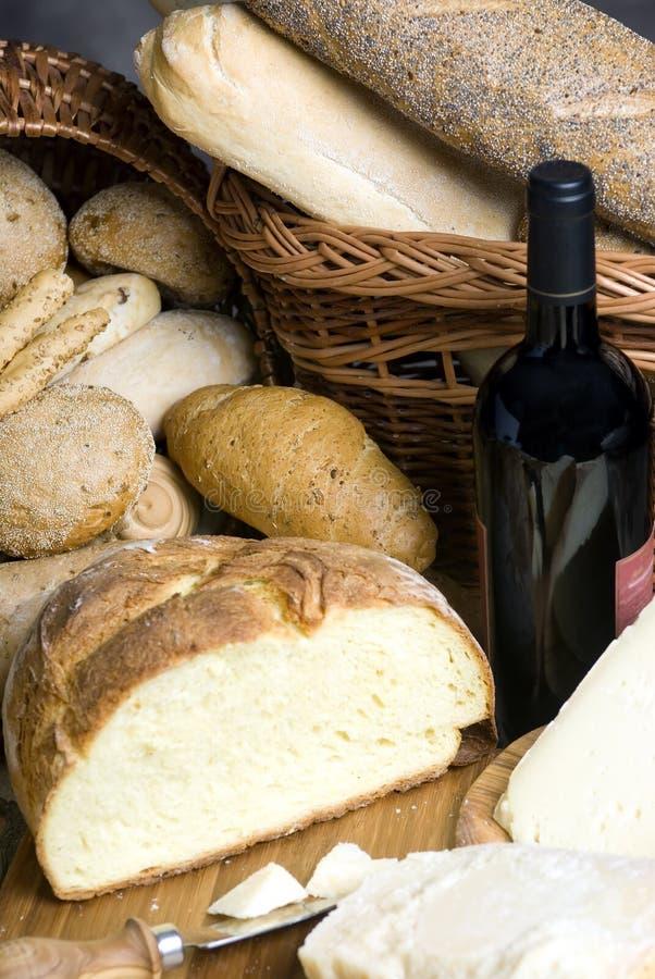 Kaas en Brood 5 stock fotografie