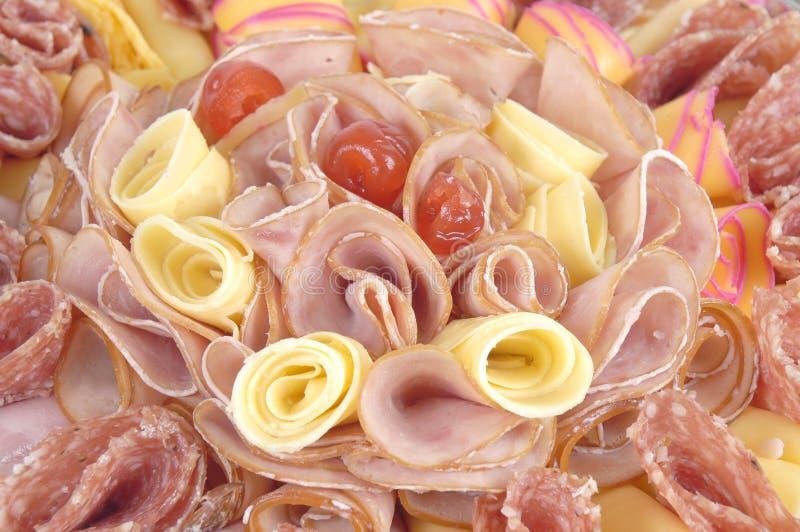 Kaas en Ham stock afbeelding