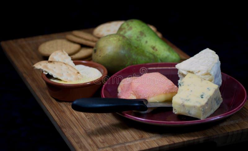 Kaas met echte die smaak bij de aanbeveling wordt gekocht royalty-vrije stock fotografie