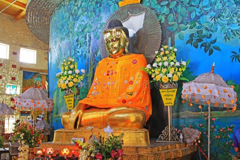 Kaba Aye Pagoda, Yangon, Myanmar foto de stock royalty free