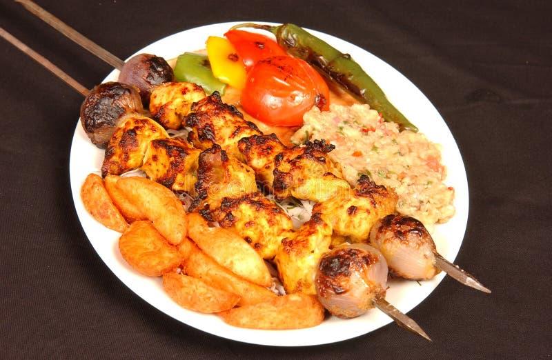 Kabab obrazy royalty free