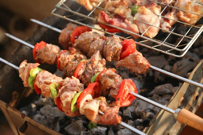 Kabab imagem de stock