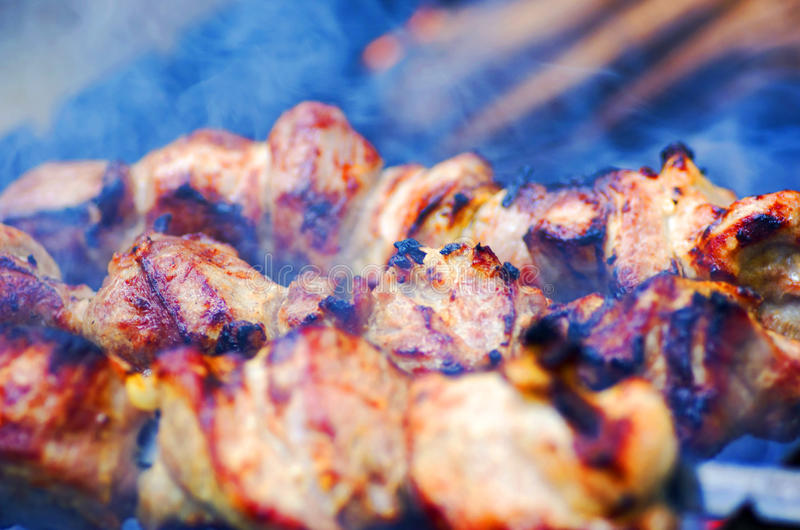 Kababs stock photo