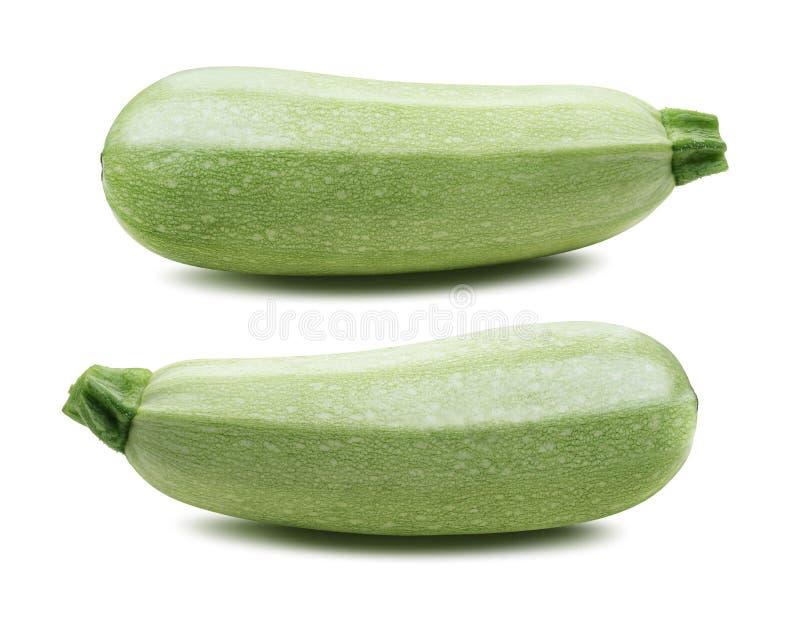 Kabaczka jarzynowego szpika kostnego zucchini odizolowywał 3 zdjęcia stock
