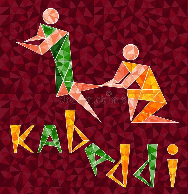 Kabaddi 01 illustration stock