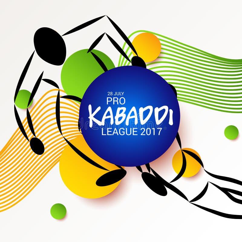 Kabaddi ilustracji