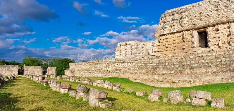 Kabah,尤加坦,墨西哥 免版税库存照片