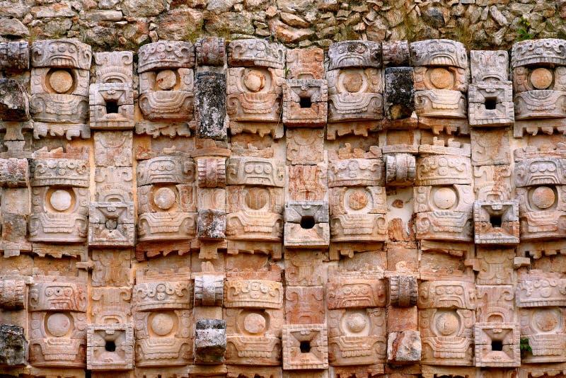 Kabah en Yucatán, México foto de archivo