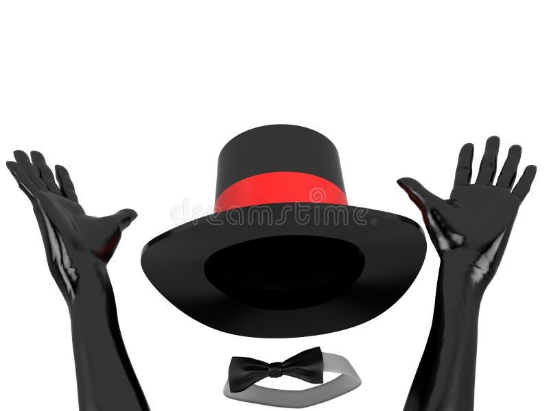 kabaret odziewa royalty ilustracja