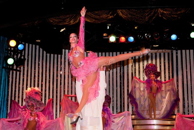 Kabaret Parisien i Havana royaltyfri foto
