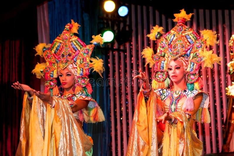 kabaretowy Havana parisien obraz royalty free