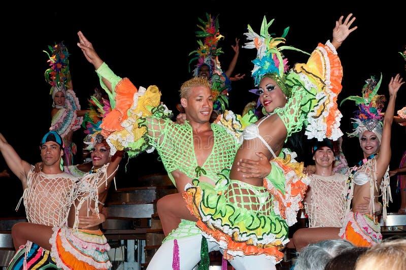 kabaretowy Havana parisien obrazy royalty free
