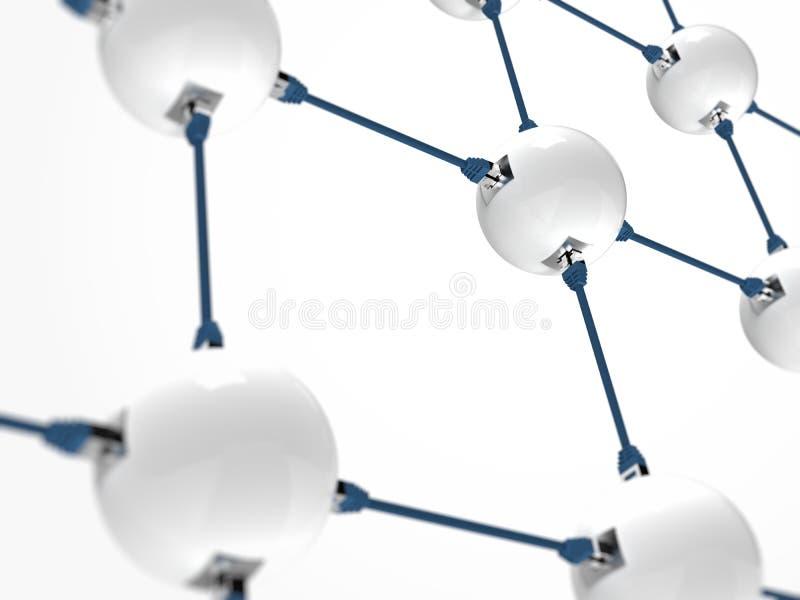 kabeer nätverkande för sammankopplingsnätverk arkivbilder