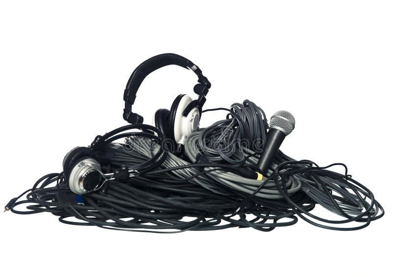 kabeer utrustningmusik arkivbild