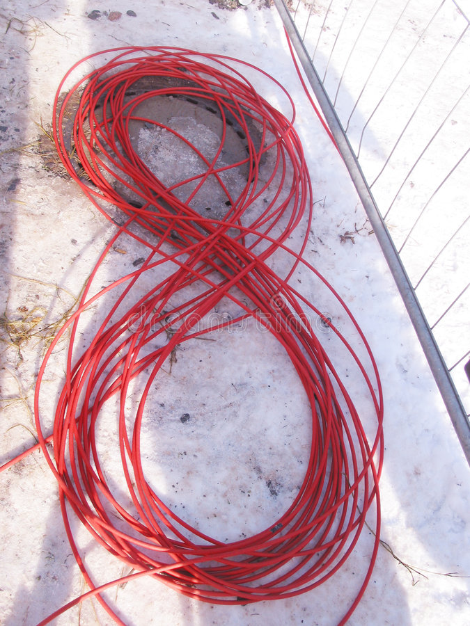 Kabel acht royalty-vrije stock fotografie