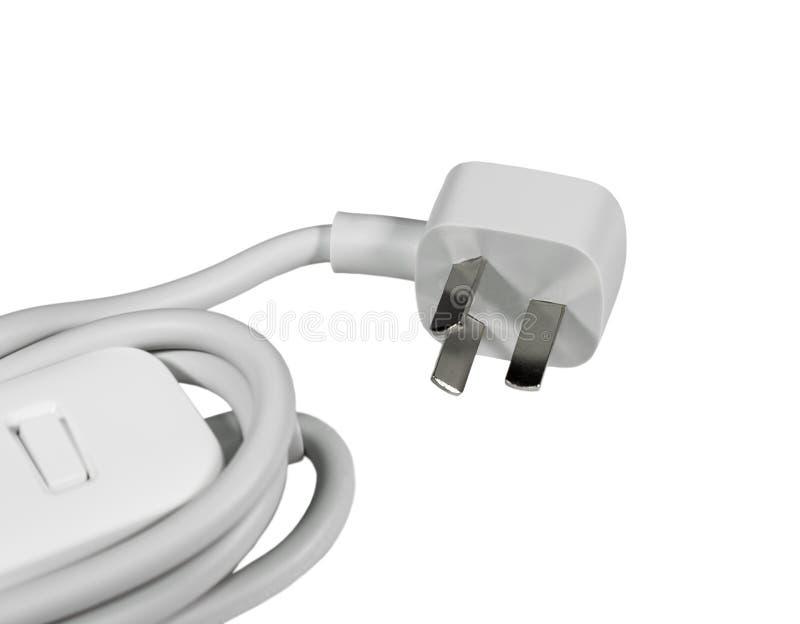 Kabel der elektrischen Leistung mit chinesischem Stecker stockfoto